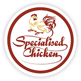 The Specialised Chicken logo.